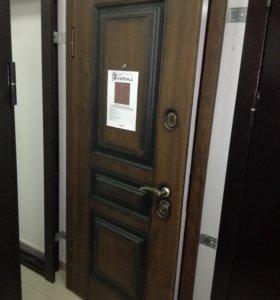 Входная дверь TERMOSCREEN Винорит Дуб патина