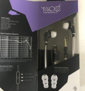 Наушники с микрофоном и клавишами управления