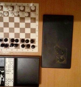 Мини шахматы,шашки,домино
