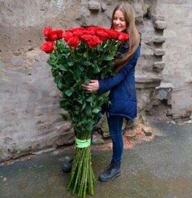 Большие розы