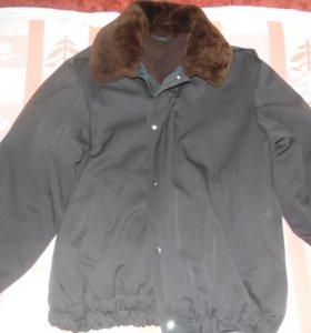 Куртка мужская на меху(цигейка)