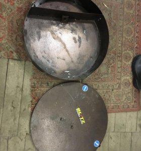 Бардачок вместо запаски для ваз2121
