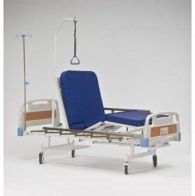 Кровать для лежачих больных с матрацем