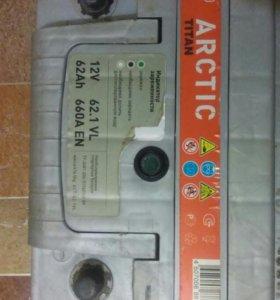 Аккумулятор титан Арктик