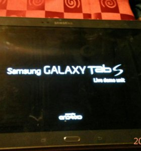 Samsung galaxy tab s демо версия
