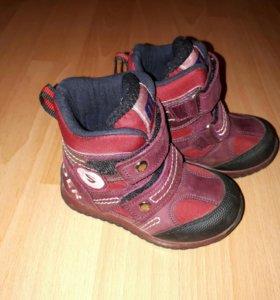 Обувь для девочки. Ботинки минимен  22 размер