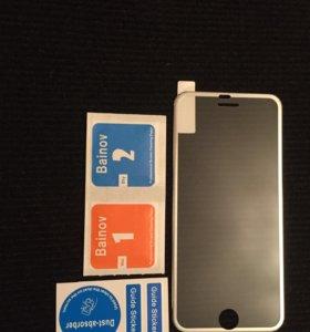 Стекло защитное на iPhone 6 6s