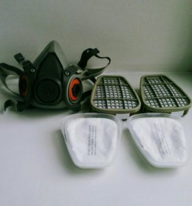 Респиратор-полумаска 3М 6200 с фильтрами