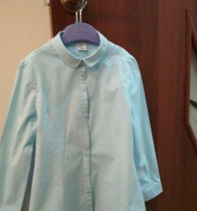 Блузка-рубашка для девочки