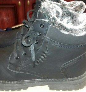 Зимние мужские новые ботинки