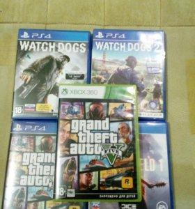 Игры на PS4-Xbox 360