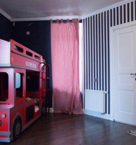 Детская кровать+2 матраса