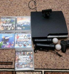 PlayStation 3 Slim 500gb PS3 + комплектующие