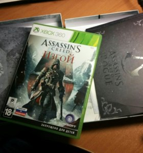 Assassin`s creed Rogue для xbox 360
