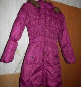Куртка для девочки почти новая