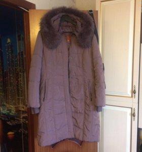 Куртка утеплённая с натуральным мехом