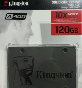 Новый ssd 120gb Kingston sa400s37