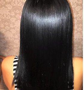 Кератиновое выпрямление.Ботокс для волос.