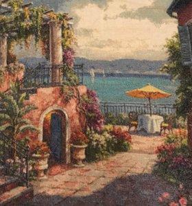 Картина крестиком 'Райский уголок'