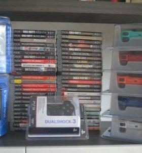 Игры и геймпады для PS3