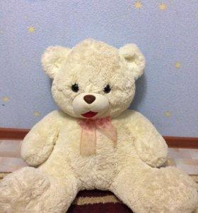 Плюшевый поющий медведь, отличное состояние