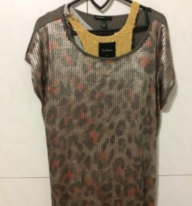 Платье Mango пайетки