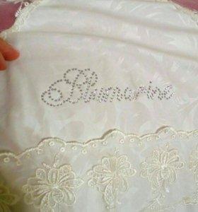 Конверт-одеяло на выписку теплое