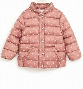Легкая стеганая куртка ZARA