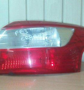 Фонарь задний правый Ford Focus 3 седан 2013г