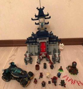 Лего ниндзяго замок