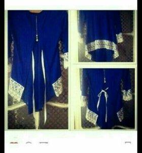 Блузка со шлейфом