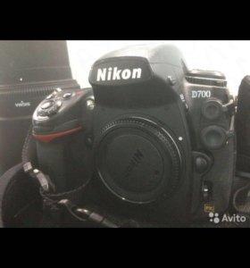 Фотоаппарат Nikon D700,объектив,штатив,рюкзак