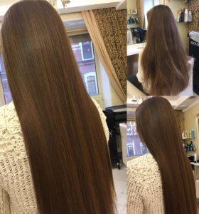 Восстановление волос - жидким шёлком