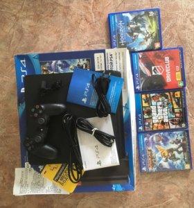 Sony PlayStation 4 Slim Black 500 Gb