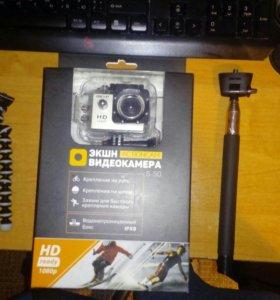 Экшн камера DEXP S-50
