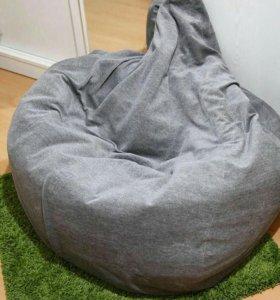 Кресло мешок икеа