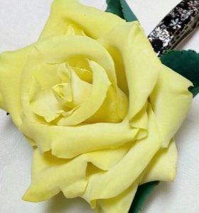 Цветы из полимерной глины - ручная работа