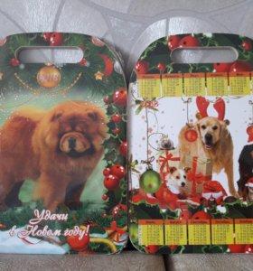 Новогодние подарочные разделочные доски