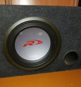 Сабвуфер Alpine Type-R 3000 Вт в коробе как новый
