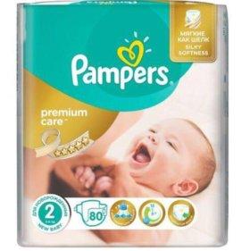 Pampers Premium care 75-76 шт