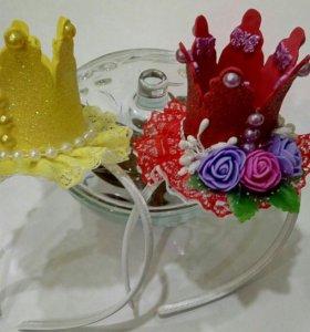 Ободок корона принцессы