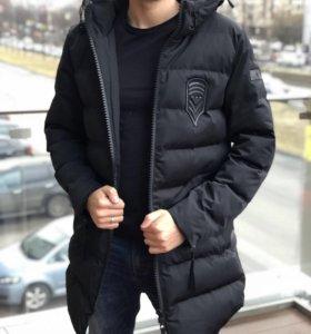 куртка зимняя armani