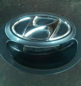 Ручка двери багажника Hyundai Solaris хетчбэк