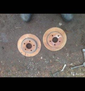 Задние тормозные диски форд фокус 2
