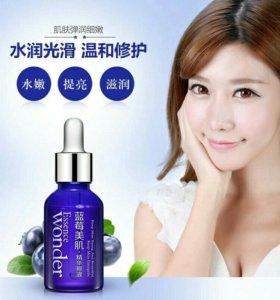 Уход за кожей лица гиалуроновая кислота с черникой