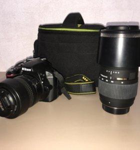 Фотоаппарат Nikon D3300 + Nikkor 18-55
