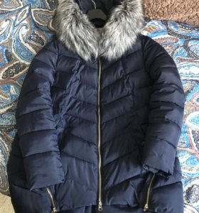 Тёплый зимний пуховик