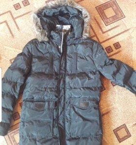 Новая Куртка мужская, зимняя, размер S