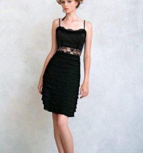 Черное платье Papillio