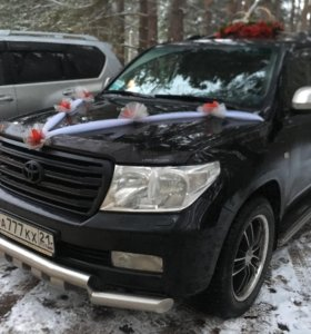 Аренда авто на свадьбу / торжества, прокат с водит